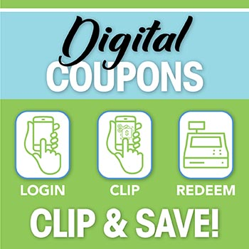Digital Coupons for John's Grocery